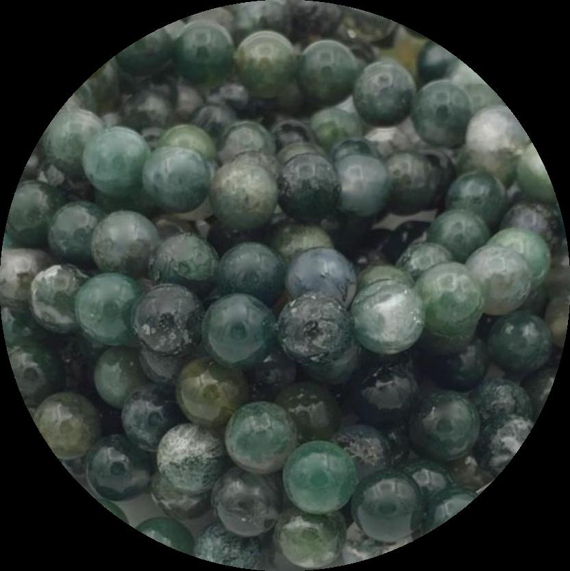 Agaat-mos-moss-agate-halfedelstenen-semipreciousstones