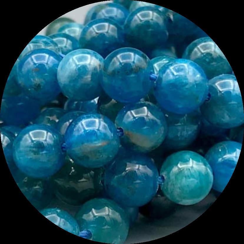 Apatiet-Blauw Apatiet-Blue Apatite