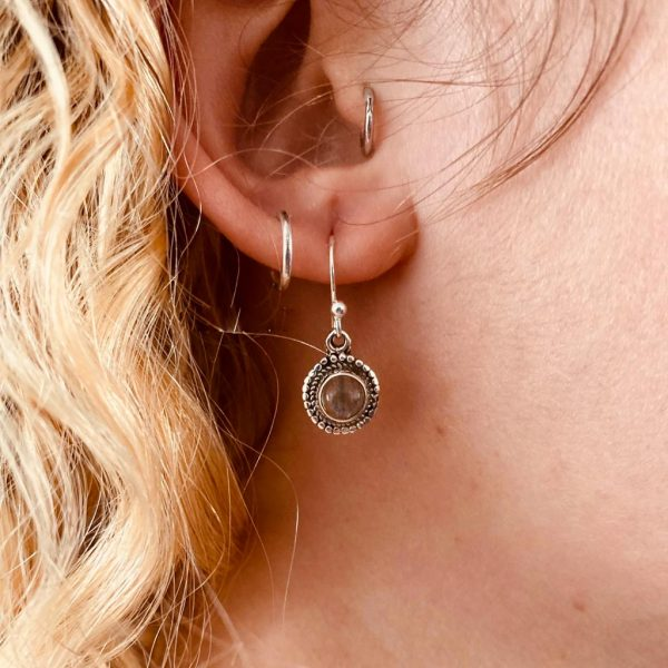 Oorringen-model-zilver-rond-earrings