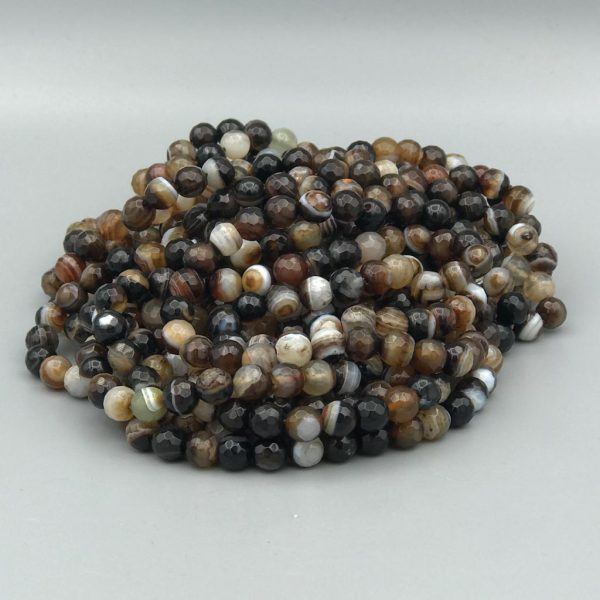 Stone-steen-agaat-bruin-gestreept-agaat-brown-banded-agate