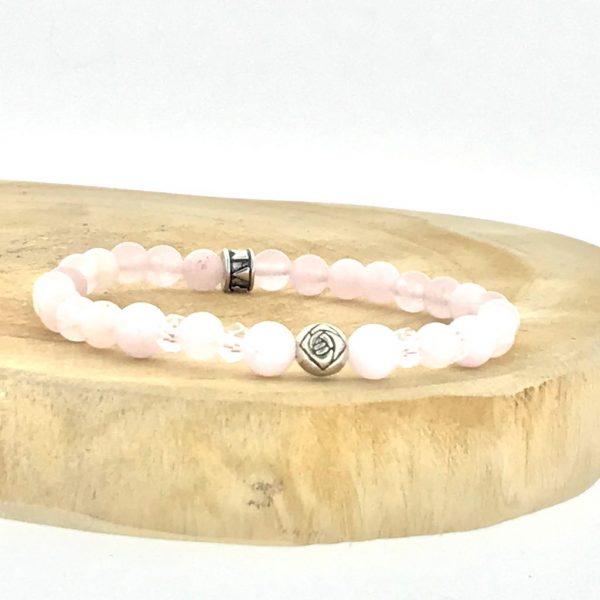 armband-bracelet-kunziet-kunzite-rozenkwarts-rosequartz