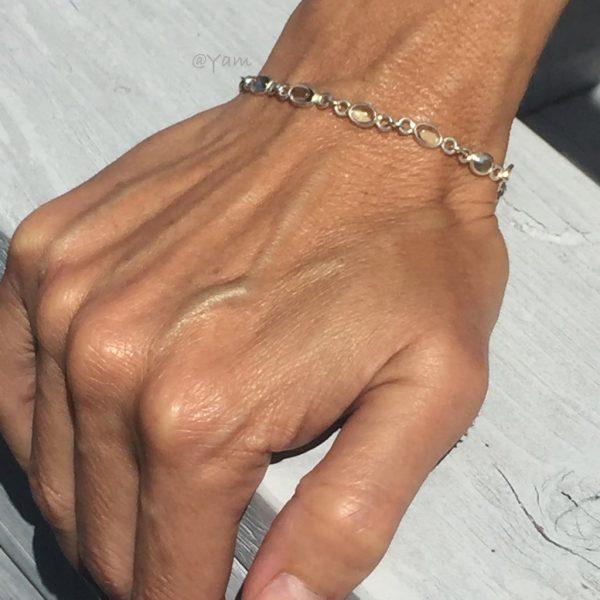 armband-model-aquamarine-transparant-zilver
