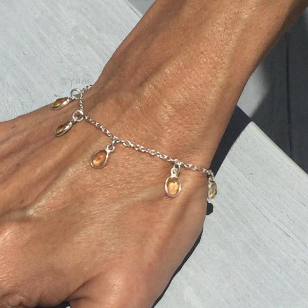 armband-model-zilver-citrien-bedels