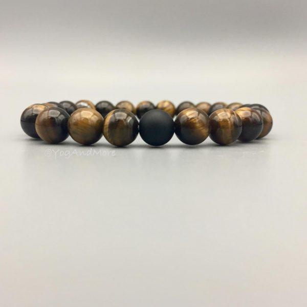 armband-tijgeroog-tigerseye-mat-onyx-halfedelstenen