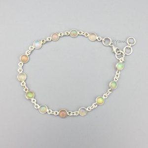 armband-zilver-halfedelstenen-opaal
