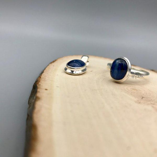 combo-Ring-Pendant-silver-zilver-kyanite