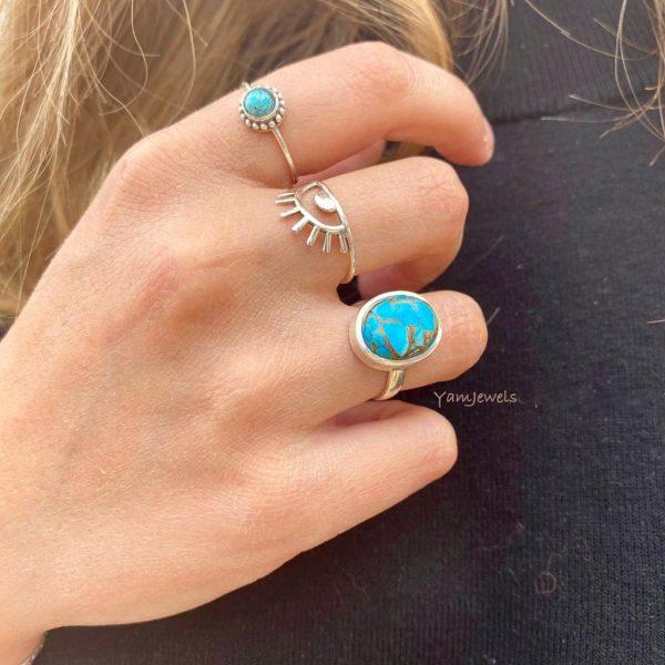 combo-model-turkoois-ring-zilver-