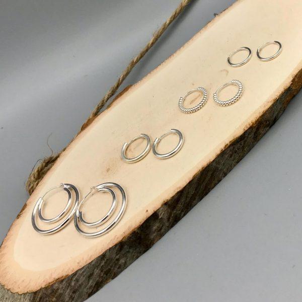 combo-oorringen-hoops-loops-zilver