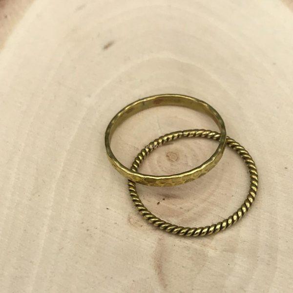 combo-ring-brass-koper-draadringen