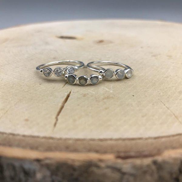 combo-ringen-3-op-1-rij-silver-zilver