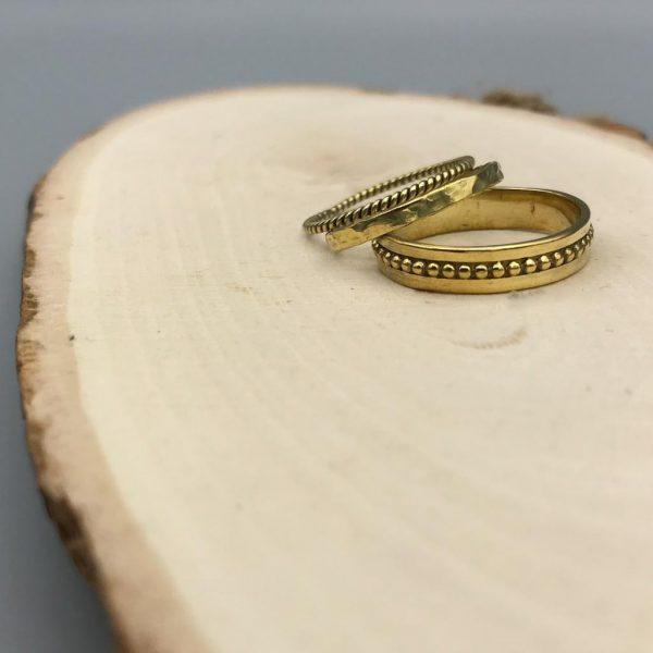 combo-ringen-brass-koper-threadrings