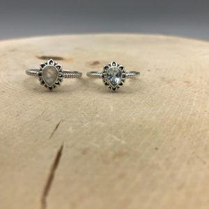combo-ringen-drops-zilver-maansteen-blauwe-kwarts