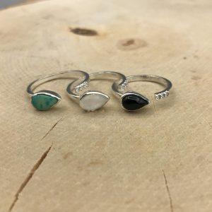 combo-ringen-onyx-maansteen-turkoois-triple-kwarts