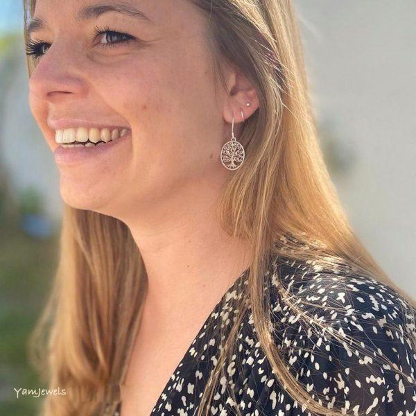 model-oorringen-earrings-tree-of-life-levensboom-zilver