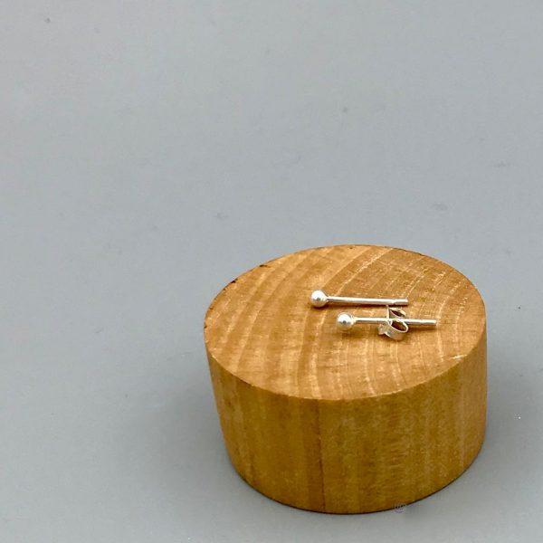oorringen-dot-knop-zilver