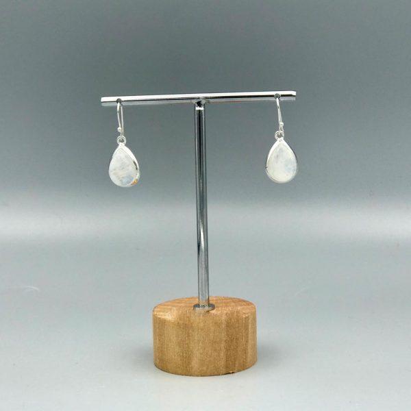 oorringen-earrings-drop-druppel-maansteen-moonstone
