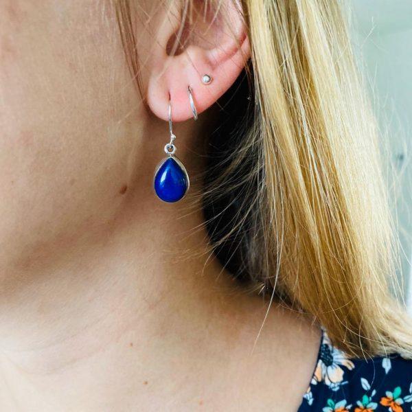 oorringen-earrings-lapis-lazuli-sterling-zilver-silver-ovaal-ovale