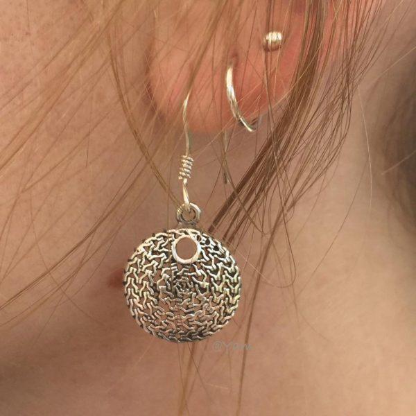 oorringen-model-zilver-rond-beauty-hanger-earrings