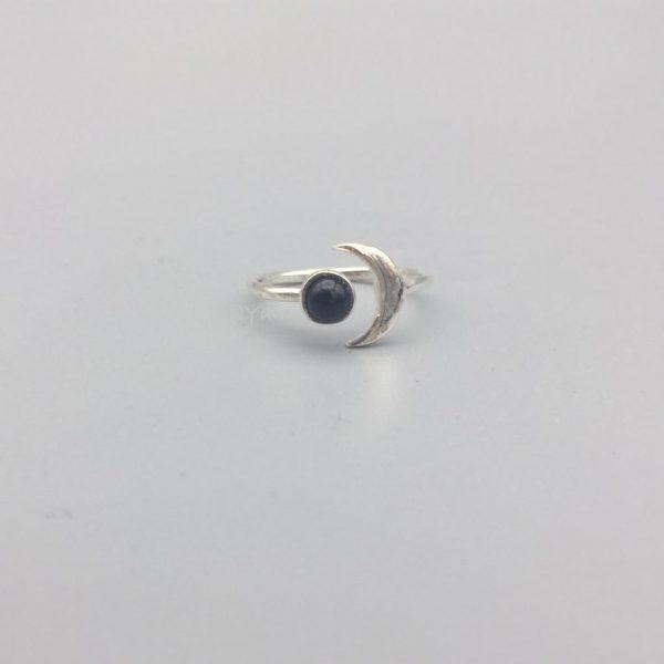 ring-maan-onyx-zilver