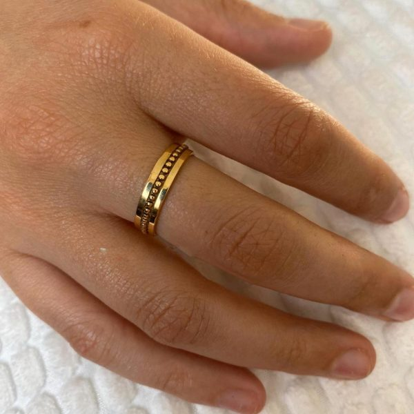 ring-model-brass-koper-dots