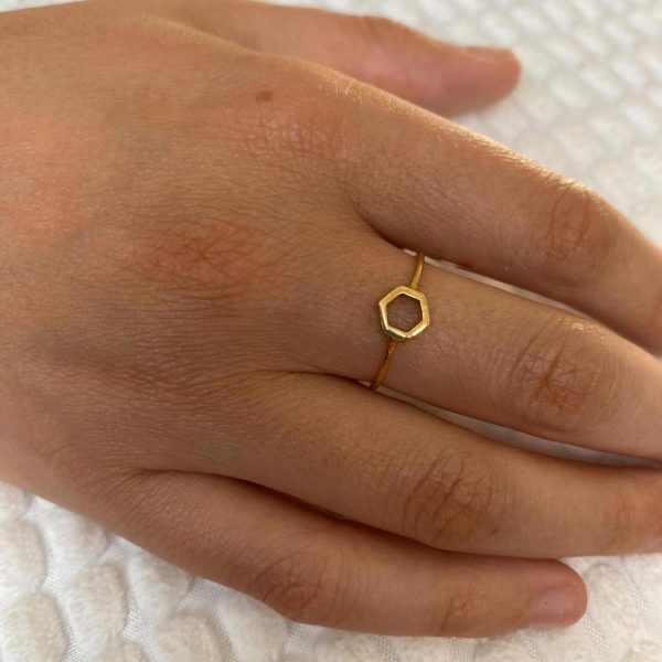 ring-model-hexagon-brass-koper-7