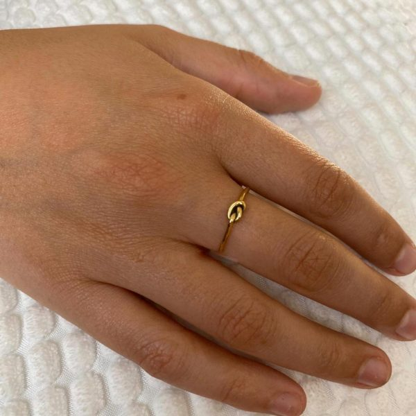 ring-model-knoop-knots-brass-koper-10