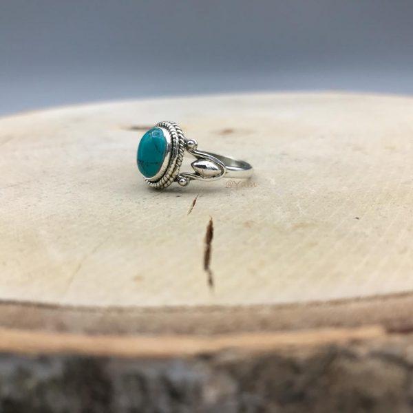 ring-turkoois-zilver-ovaal-drop