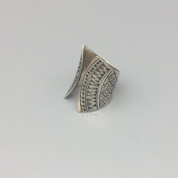 ring-zilver-boho-stijl-groot