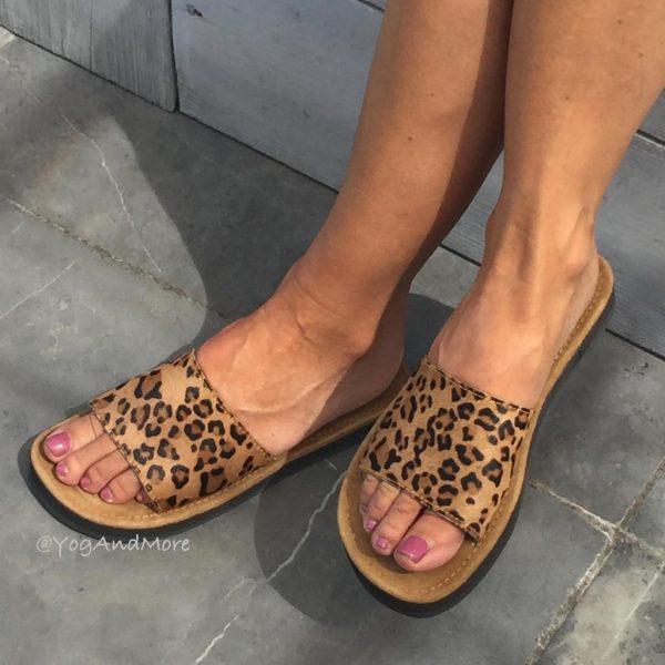 slippers-model-tijger-print