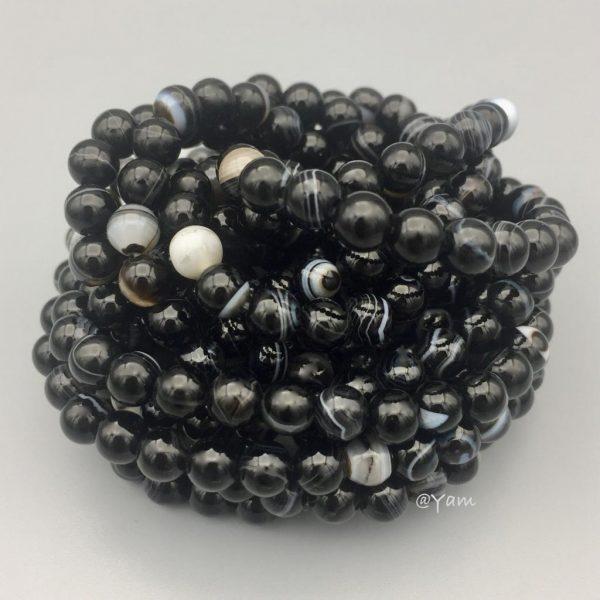 stone-steen-agaat-black-agate-zwart