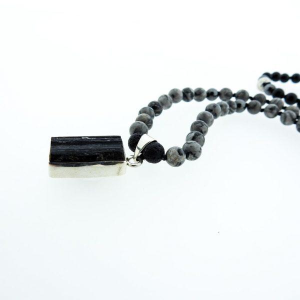 108 Mala-lava-pendant-onyx-Jaspis
