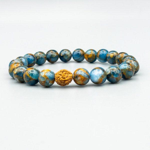 Bracelet-Armband-Argentina-Blue-Calcite
