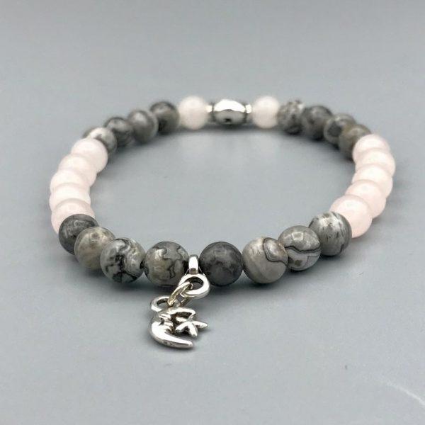 Rozenkwarts-jaspis-jasper-rosequartz-bracelet-armband