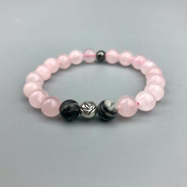 Rozenkwarts-rosequartz-agaat-agate-armband-bracelet
