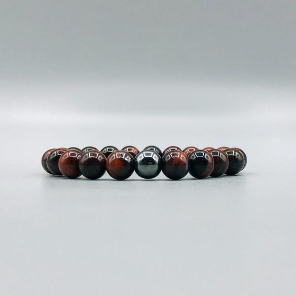 armband-bracelet-red-rood-tijger-tiger-hematiet