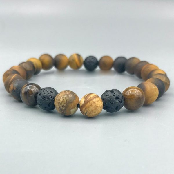 armband-Tigereye-Picture-Jasper-Lava-bracelet-tijgeroog-jaspis