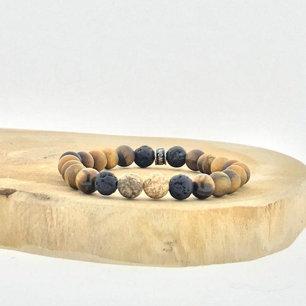 armband-bracelet-lava-matt-tigerseye-mat-tijgeroog-lava-jaspis-jasper