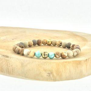 armband-bracelet-6mm-amazoniet-amazonite-picture-jasper-landschaps-jaspis-buddha