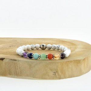 armband-bracelet-6mm-chakras-howlite-howliet