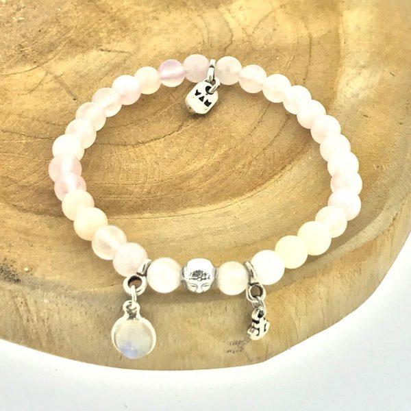 armband-bracelet-6mm-maansteen-moonstone-rozenkwarts-rosequartz