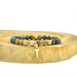 armband-bracelet-6mm-picture-jasper-landschapsjaspis-afrikaans-turkoois