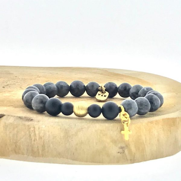 armband-bracelet-black-labradorite-zwart-labradoriet-brass-charms-matt-onyx