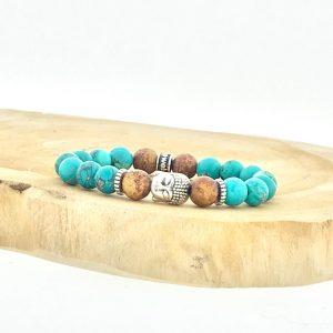 armband-bracelet-buddha-boji-howliet-howlite-turquoise-turkoois