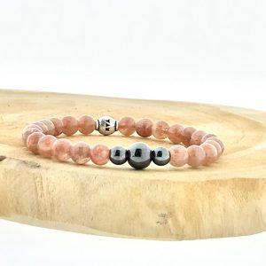 armband-bracelet-hematiet-hematite-zonnesteen-sunstone