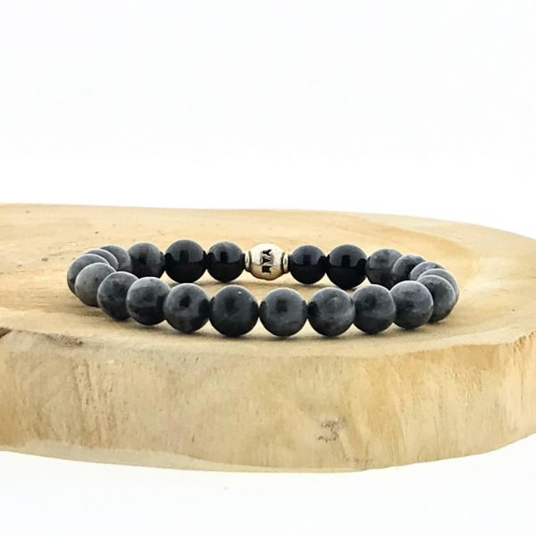 armband-bracelet-labradoriet-zwart