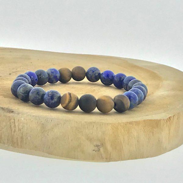 armband-bracelet-lapis-lazuli-matt-tijgeroog-tigerseye