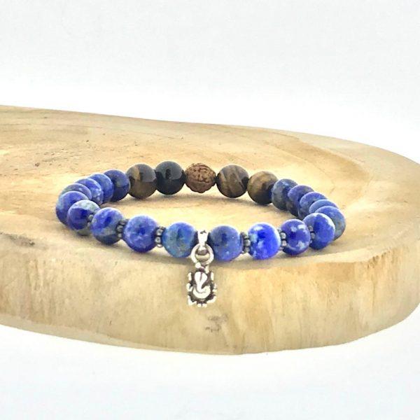 armband-bracelet-lapis-lazuli-tijgeroog-tigerseye-rudraksha-ganesha