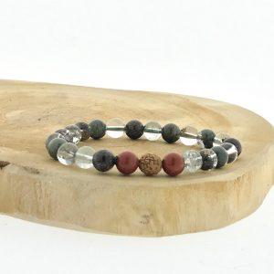 armband-bracelet-lodoliet-lodolite-red-jasper-rood-jaspis-rudraksha