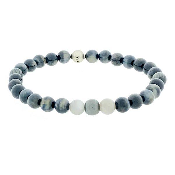 armband-bracelet-maansteen-moonstone-grey-grijs-tigerseye-tijgeroog-hematiet-hematite