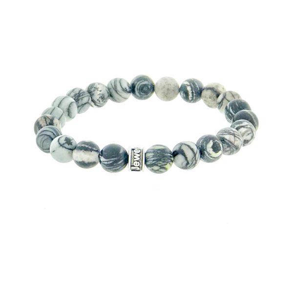 armband-bracelet-matt-mat-black-zwart-agate-agaat